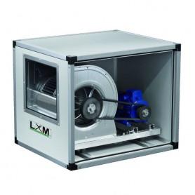 Ventilatore centrifugo cassonato a trasmissione - Doppia Velocità - 4500/2990m3/h - 1,7/0,6 KW - 1290/857 RPM