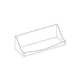 Kit portablender- da fissare su basi lavello a giorno - 500x220x220h mm