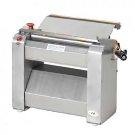 Sfogliatrice monofase o trifase - Con pulsantiera 240 volt - Rullo inox 320 mm - Ø 55 mm