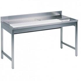 Tavolo preparazione Carne e Pesce - 1300x700x850mm