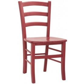 SEDIA Struttura in legno, seduta in legno