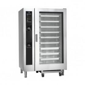 Forno Misto Convezione / Vapore per Gastronomia - GAS - 20 GN 2/1 - Con Lavaggio Automatico e Iniezione Diretta