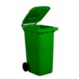 Bidone Carrellato - 240 Litri - Verde Chiaro