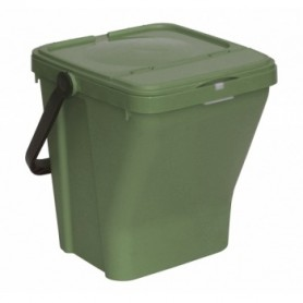 Porta Rifiuti Ecotop - 35 Litri - Verde Scuro