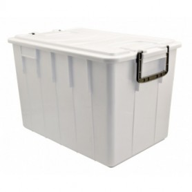 Cassa Food Box - 60 Litri - Bianca - Con Coperchio