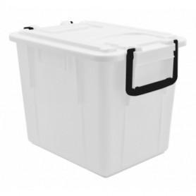 Cassa Food Box - 60 Litri - Trasparente - Con Coperchio