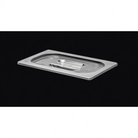 Coperchio per Bacinella in Plastica Trasparente - GN 1/9