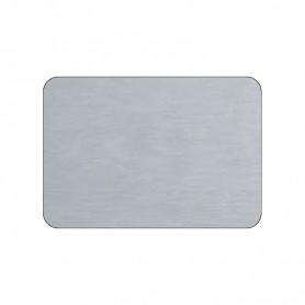 Piano in HPL - Colore Alluminio