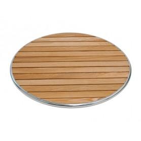 Piano per Esterno - Tondo - Legno Wood