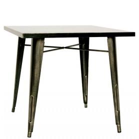 Tavolo da Interno - Struttura in metallo verniciato effetto anticato