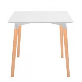 Tavolo da Interno - L120 x P80 x H74 cm - Struttura in legno multistrato, piano in MDF laccato