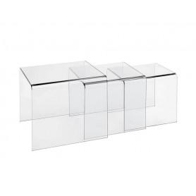 Tavolino - Composizioni in vetro temperato spessore 12 mm