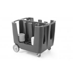 Trolley Porta Piatti - 930x720xh785 mm