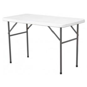 Tavolo per Buffet - Ripieghevole - 1220x610x(h)740 mm