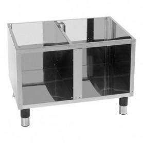 Base aperta per Cottura da banco 650 - 80x54x57h cm