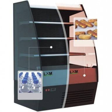 Murali Refrigerati - Modello TKY Doppia Temperatura [+2 +7 C° e +45 C° ]