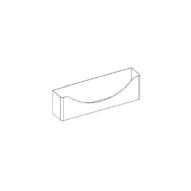 Kit portabottiglie - da fissare su basi lavello a giorno