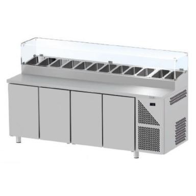 Tavoli Snack Refrigerati - Profondità 800 mm