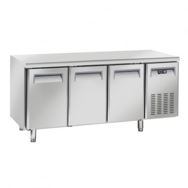 Tavoli Refrigerati INOX - Positivi - Profondità 70 - senza Alzatina