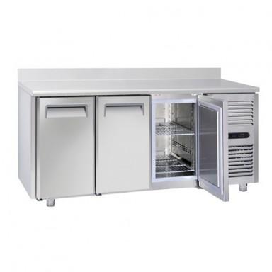 Tavoli Refrigerati INOX - Negativi - Profondità 70 - Tropicalizzati Con Alzatina