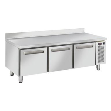 Tavoli Refrigerati in acciaio INOX - Con Cassetti - Profondità 68,5