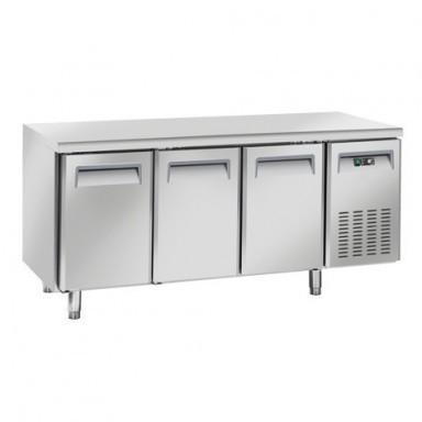 Tavoli Refrigerati INOX - Negativi - Profondità 60 - senza Alzatina