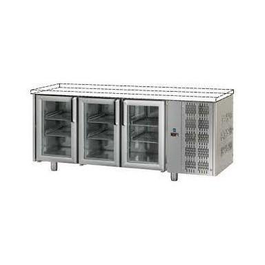 Tavoli Refrigerati in acciaio INOX - Profondità 70 - Senza Piano di Lavoro