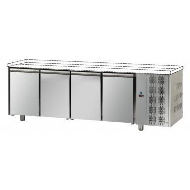 Tavoli Refrigerati - Senza Piano di Lavoro - 4 Porte