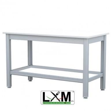Tavolo da Lavoro - Piano in Polietilene spessore 2.5 cm